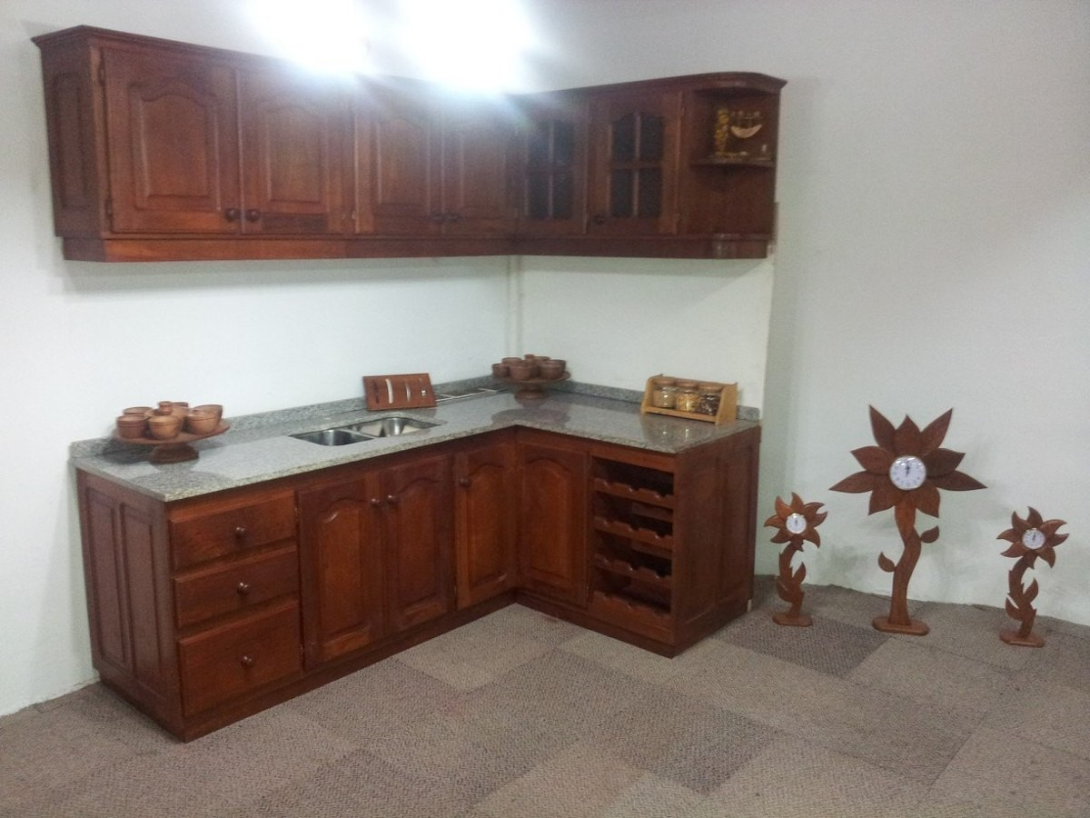 Muebles De Cocina De Algarrobo Pictures to pin on Pinterest