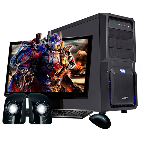 pc armada intel i3 | 4gb | 500gb | usb3 | trabajo y diseño!