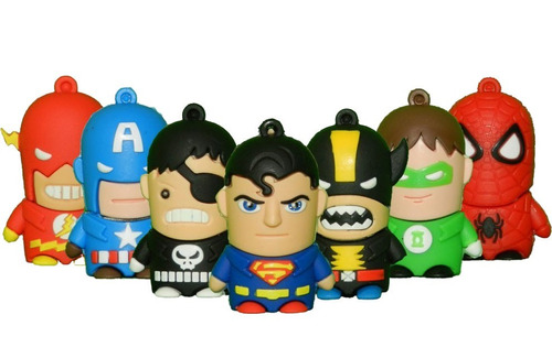 pendrive personajes 8gb minions disney superheroes minion