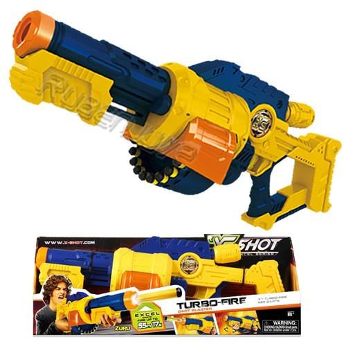 pistola rifle x-shot turbo fire 20 disparos 17mts oferta