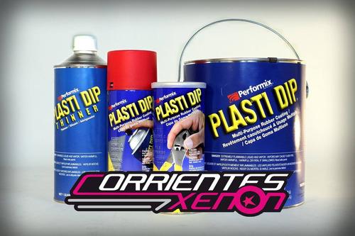 plastidip pintura vinilo en aerosol tunning llantas autos