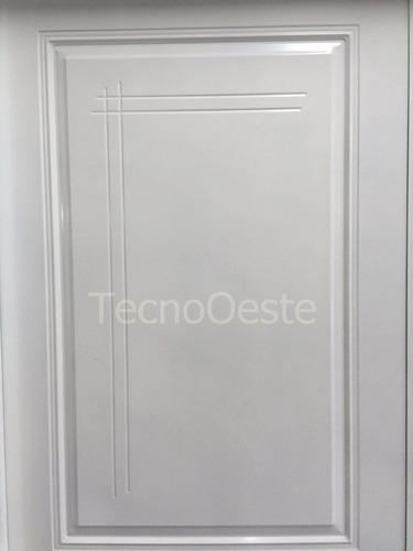 puerta doble chapa inyectada pavir florencia precio-calidad
