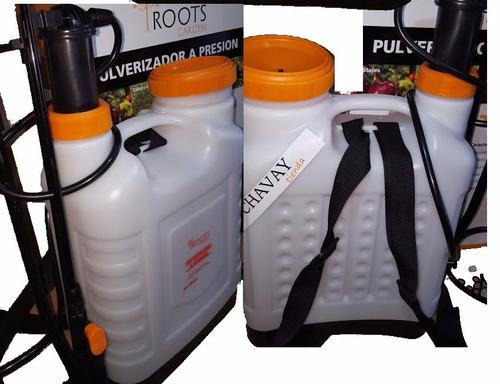 pulverizador fumigador a presion 20 l mochila  insecticida
