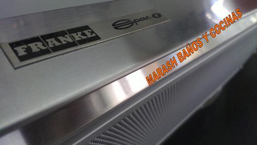 purificador campana cocina spar franke flexa acero inox 60cm