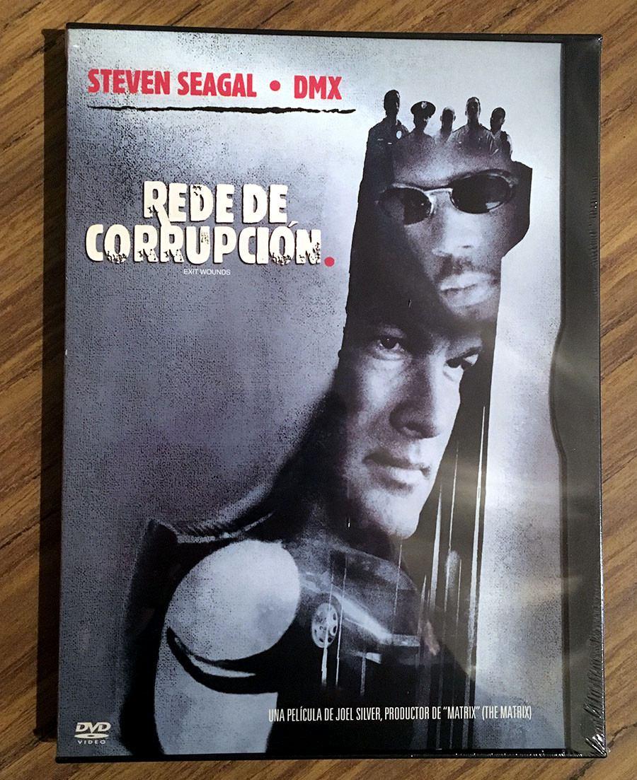 [Venta] Red De Corrupcion Exit Wounds Steven Seagal Dvd Digipack Red-de-corrupcion-exit-wounds-steven-seagal-dvd-digipack--878405-MLA25023520566_082016-F