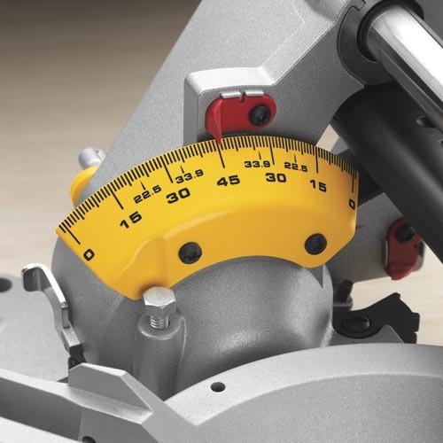 sierra ingletadora cabezal desplazable 305mm  dewalt dws780