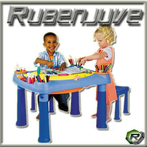 sillas juguetes mesa