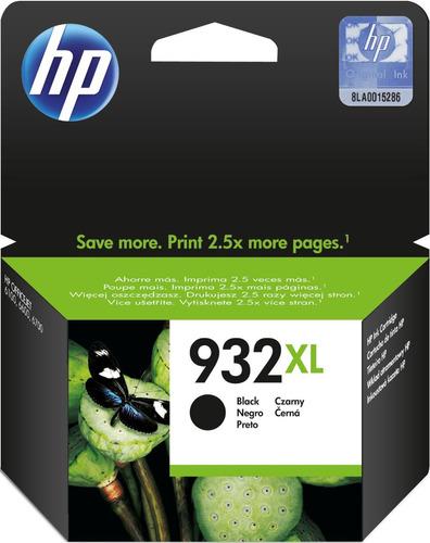 tinta hp 932xl negra original alto rendimiento 7110 7610